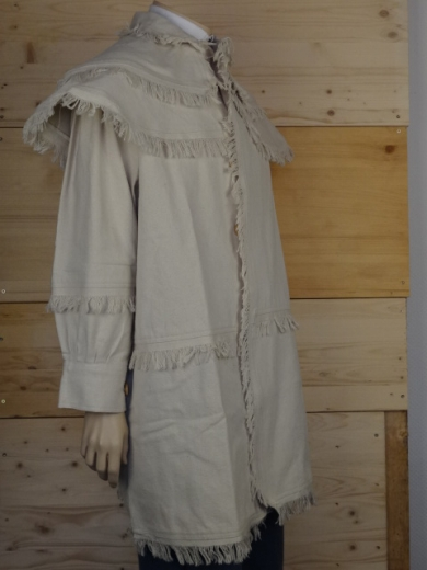 Hunting Shirt / Frock off white, 1 reihig, Rifle - Shirt