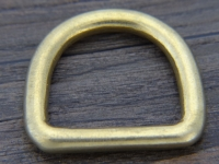 D Ring Messing für 2,5 cm Riemen