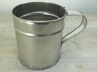 Tasse gro�, ca. 1000 ml, Tin