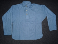 Battle Shirt mittelblau / skyblue
